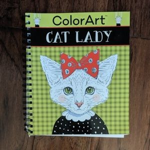 NEW Cat Lady Coloring Book